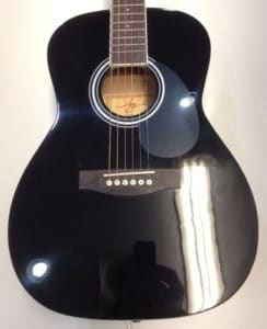 Black Finish Guitar Mississauga